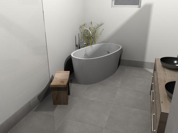Warme voeten in de badkamer - Warme badkamer ...