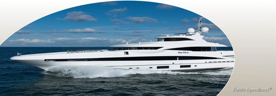 Speedheat verwarmt luxe jacht. jpg