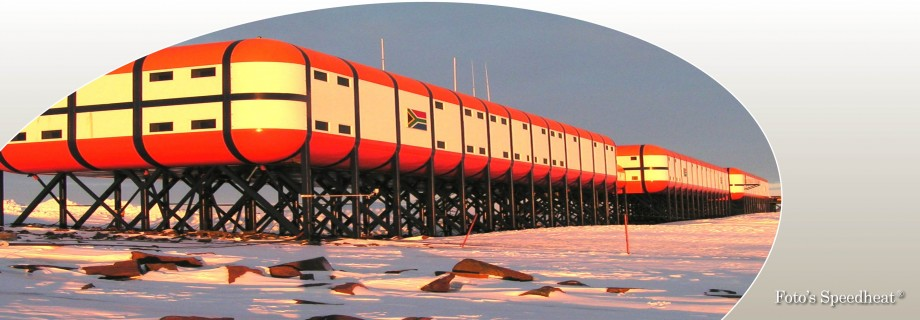 Speedheat verwarmt weerstation in Antarctica Jpg.